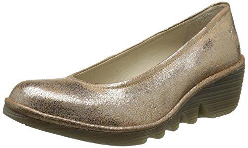 077 Cuñas London P500424074 Fly Mujer Plateado de Zapatos Luna xa8WRz