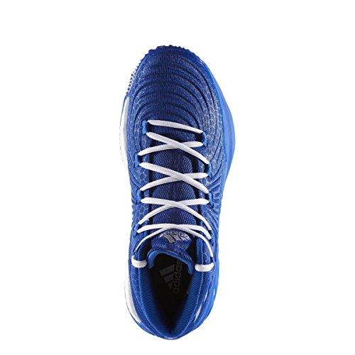 Descuento genuino Auténtico Adidas Loca Explosiva 2017 Colegiata De Baloncesto Real Y Plata De Los Hombres Del Zapato Azul Metálico Venta Get Authentic Tienda en línea Liquidación asequible YimC6TuUJ2