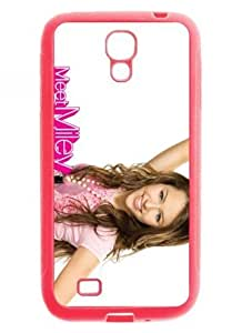 "cheap phone cases/covers for SamSung Galaxy S4 I9500 plastic and TPU material with super star ""miley cyrus"" pattern-3"