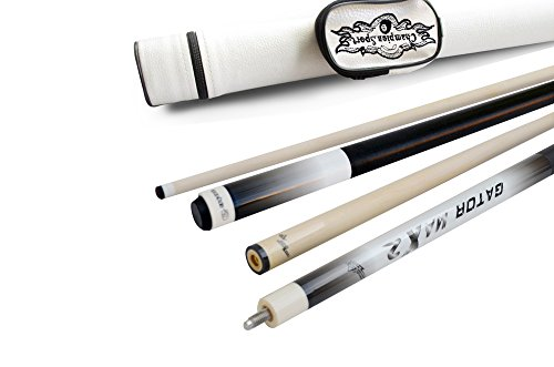 (Brand New Champion Cupid Billiards Pool Cue (tip Size: 12 or 13 Mm), BW1 Cue Set 21 Oz, White Pool Case, Cuetec or Champion Glove)