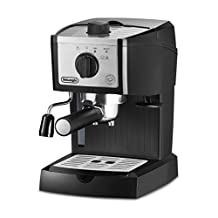 Delonghi EC155M America Pump Espresso Machine, Black