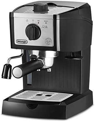 DeLonghi EC155M Manual Espresso Machine, Cappuccino Maker