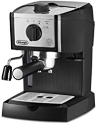 DeLonghi EC155M Manual Espresso Machine, Cappuccino Maker
