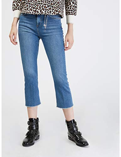 Blu Jeans Flare Size Cropped Motivi Kick italian zqYnw