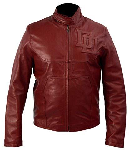 Daredevil Ben Affleck Leather Jacket Costume Maroon- M
