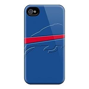 Iphone 4/4s ZcL17474fwWx Unique Design Fashion Buffalo Bills Pattern Durable Hard Cell-phone Cases -DannyLCHEUNG