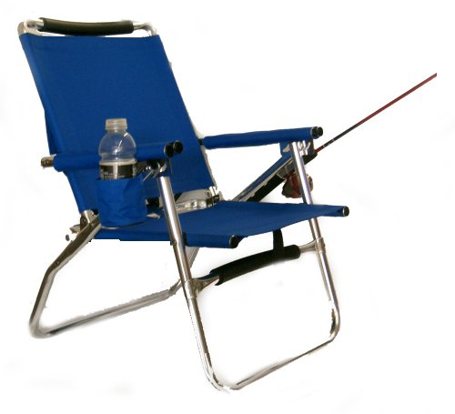 World Outdoor Products Professional Royal Blue All Aluminum Ultra Light Portable Folding Fishing Chair