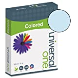 Colored Paper, 20lb, 8-1/2 x 11, Blue, 500 Sheets/Ream, Total 10 RM, Sold as 1 Carton