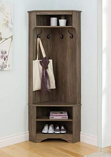 Amazon.com: Hall Trees with Bench and Coat Racks - Corner ...