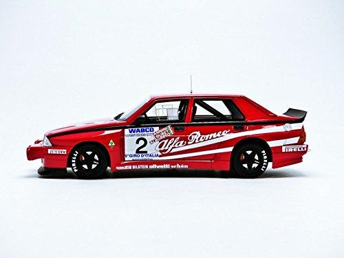 Las Mejores Marcas coleccionables - Top 032 - Alfa-Romeo - 75 Turbo Evoluzione Gr A - Escala 1/18: Amazon.es: Juguetes y juegos