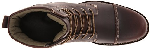 Levis Mens Lex Ii Marrone Scuro Avvio Lace-up