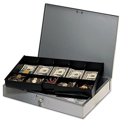 MMF Industries Extra-Wide Steel Cash Box by MMF Industries