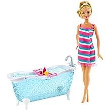 Barbie Doll and Bathtub Playset