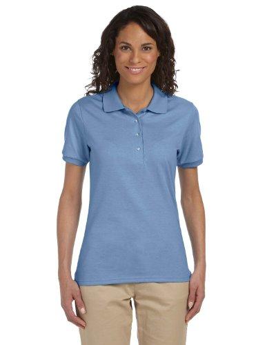 light blue polo shirt - 5