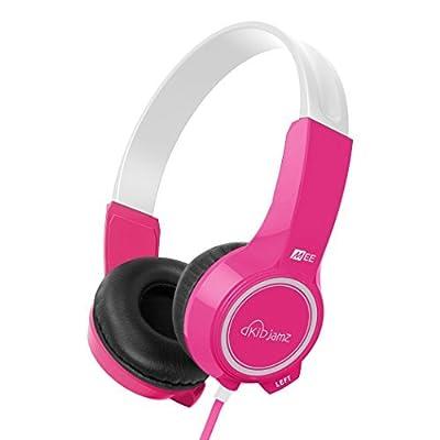 MEE audio KidJamz KJ25 Safe Listening Headphones for Kids with Volume-Limiting Technology (Blue)