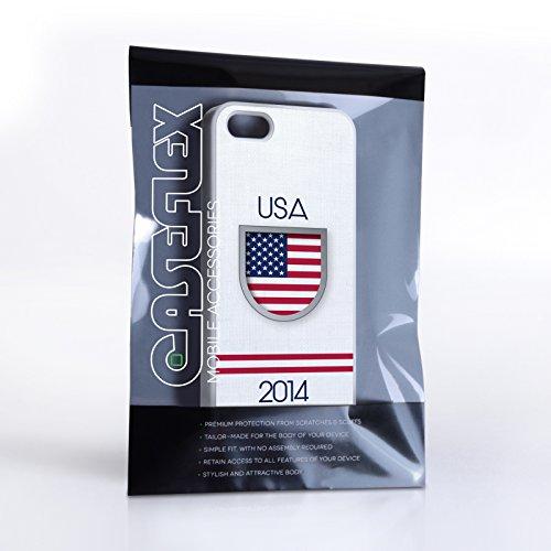 Caseflex iPhone 5 / 5S Hülle USA Weltmeisterschaft Case Hart Schutzhülle