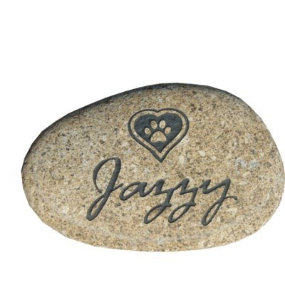 (Pet memorial stone grave marker headstone 7