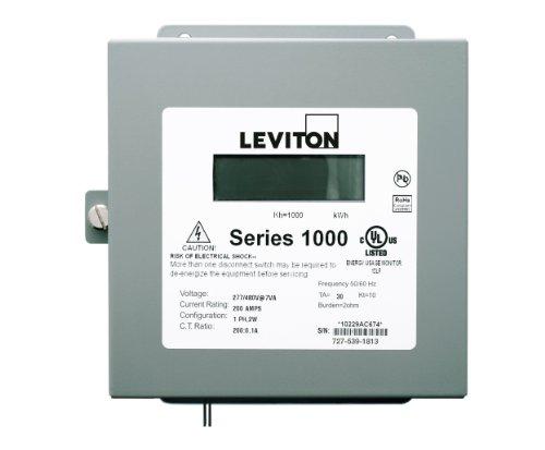 Leviton 1N240-21 Sub-Meter Series 1000 Dual Element Indoor Surface Mount Enclosure