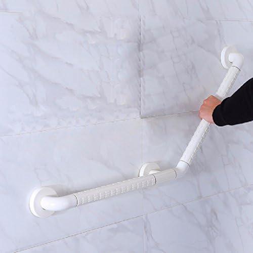 浴室用手すり 135度無障害の浴室の安全な手段の階段の建物の洗面所のトイレのトイレ304ステンレスの滑り止めの取っ手,白,700x500