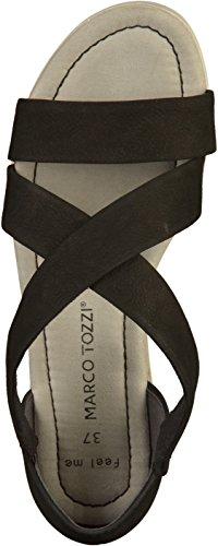 Marco Tozzi 2-28605-20 Womens Sandals Black 1lVEgD