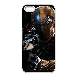 Deathstroke iPhone 5 5s Cell Phone Case White yyfabd-305986
