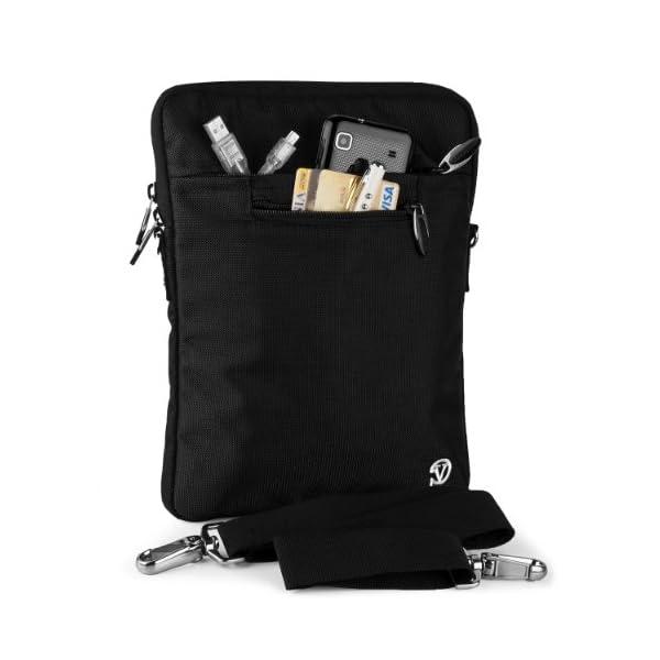VanGoddy-Slim-Black-Cross-Body-Tablet-Carrying-Case-Bag-for-Apple-iPad-97-inch-iPad-Pro-Air-105-inch-11-inch-iPad-Pro