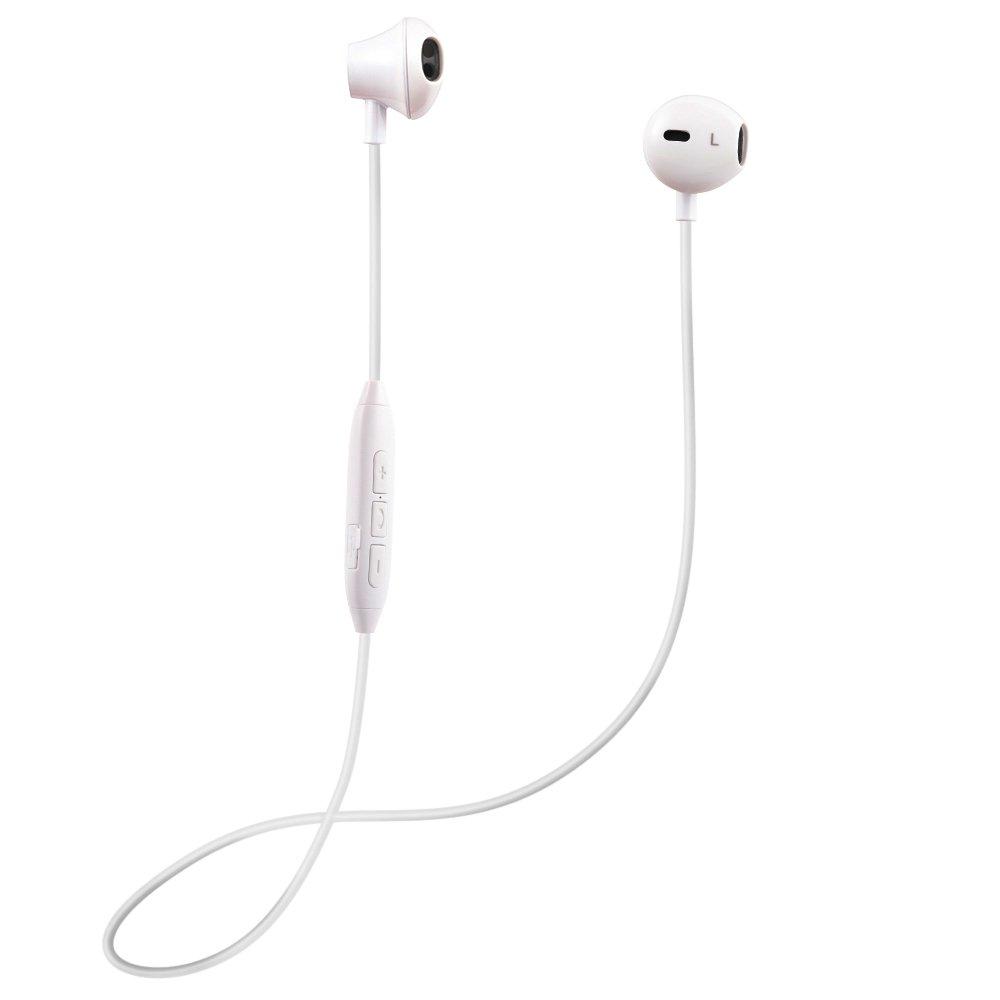 Auriculares Bluetooth magnético 4.1 Cascos inálambrico Deportivos con Micrófono Manos Libre Estéreo Headphones con cancelación de ruido Anti-Sudor para ...