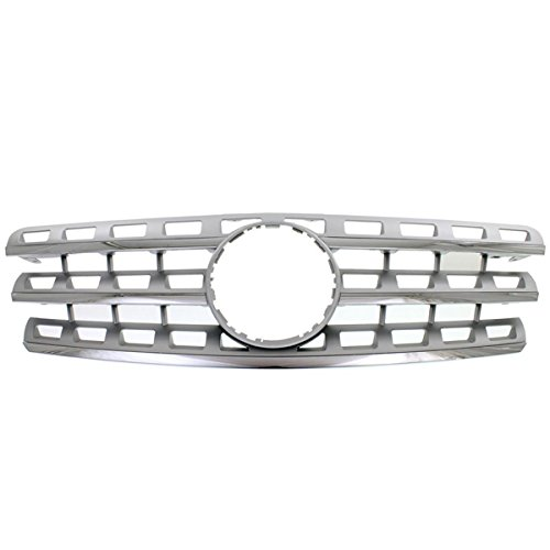 Koolzap For 08 09 10 11 ML-Class Front Grill Grille Assembly Chrome MB1200157 16488809239776