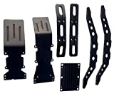 E-Maxx 3903 3905 or 3908 black anodized aluminum package super deal with free dual rate springs