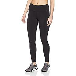 Amazon Essentials Women's Performance Full Length Legging, Black, Large