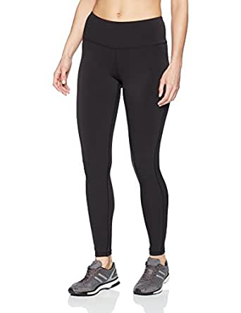 Amazon Essentials Women's Performance Mid-Rise Full-Length Active Legging, Black, X-Small