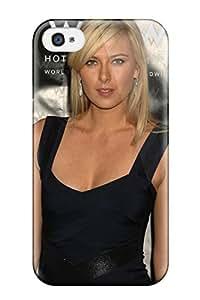 Hot Design Premium PUdaLyU5960EUcVr Tpu Case Cover Iphone 4/4s Protection Case(maria Sharapova Photos )