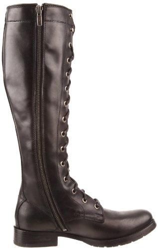 77015 Lace mujer la Melissa Tall Black Frye de Boot CwUaq4Hp