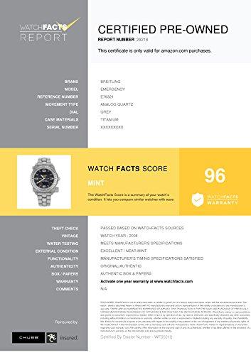 Breitling Emergency analog-quartz mens Watch E76321