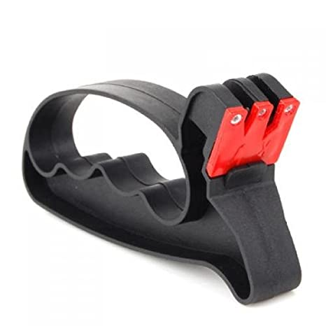 Amazon.com: 2 In 1 Knife / Scissors Sharpener With Hand ...