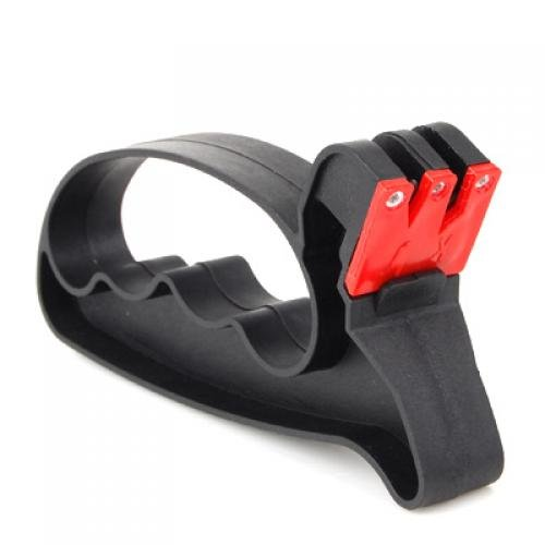 2-in-1 Knife / Scissor Sharpener With Hand Guard Move&Moving AEQW-WER-AW134501