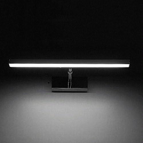 &LED Spiegelfrontlampe Led Spiegel Vorne Lichter, Spiegel Kabinett Lichter Bad Wasserdicht Spiegel Vorderlicht Wandleuchten Lampe vor dem Spiegel (Color : White)