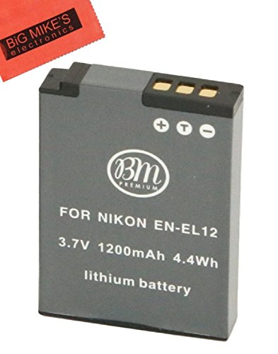 BM Premium EN-EL12 Battery for Nikon Coolpix A900, for sale  Delivered anywhere in Canada