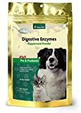 Product review for NaturVet Digestive Enzymes Plus Probiotic for Dogs and Cats, 10- oz Powder, Made in USA