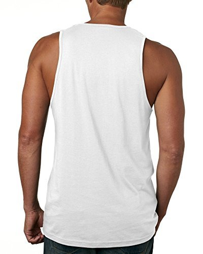 YLJIA Mens Mess with The Crabo You Get The Stabo Casual Style Outdoor White Tank Tank Tops