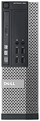 Dell Optiplex 990 Business Small Form Factor SFF Desktop Computer, Intel Quad Core i5-2400 3.1Ghz CPU, 8GB RAM, 2TB HDD, DVD, VGA, DisplayPort, Windows 7 Professional (Certified Refurbished)