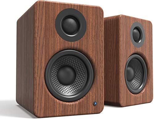 "Kanto 2 Channel Powered PC Gaming Desktop Speakers | 3"" Composite Drivers 3/4"" Silk Dome Tweeter 