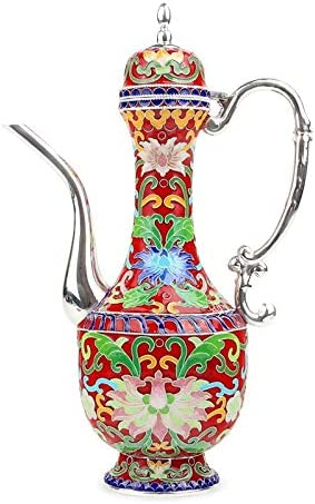 Teapot Red Wine Set Sterling Silver 999 Handmade Silver Jug Chinese Silver Wine Glass Domestic Wine Glass Gift WZCUICAN