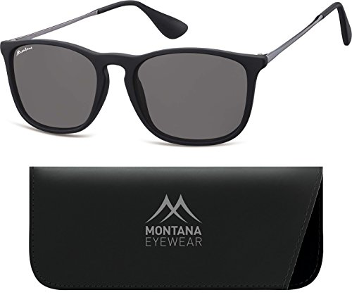 Multicolor de Montana Smoked Gafas Adulto Lenses Sol Unisex Black 5FpxqXwHp