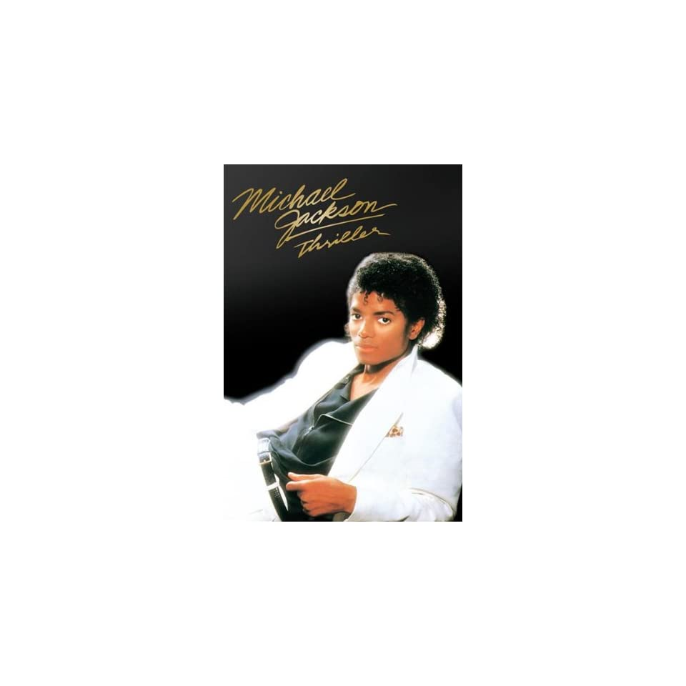 Michael Jackson Thriller Album Cover, Music Poster Print, 24 by 36 Inch