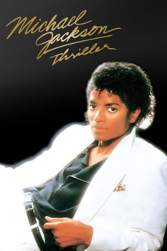 Album Cover Rock - Michael Jackson Thriller Album Cover Pop Rock Music Icon Legend Celebrity Poster Print 24 by 36
