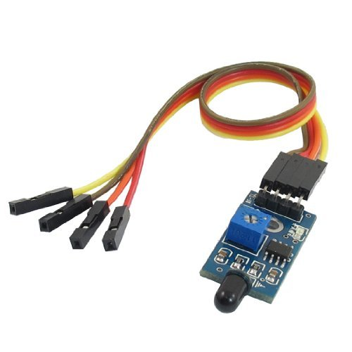 EbuyChX Wavelength 760nm-1100nm 4 Pins 2 Channel LM393 Chip Flame Sensor Module w - Sensor Chip
