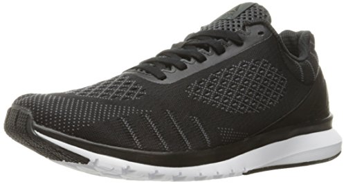 Reebok Men's Print Run Smooth ultk Shoe, Black/Alloy/White/Coal, 11 M US