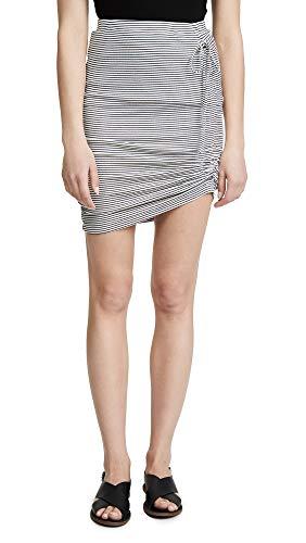 (Splendid Women's Alto Skirt, Off White, Large)