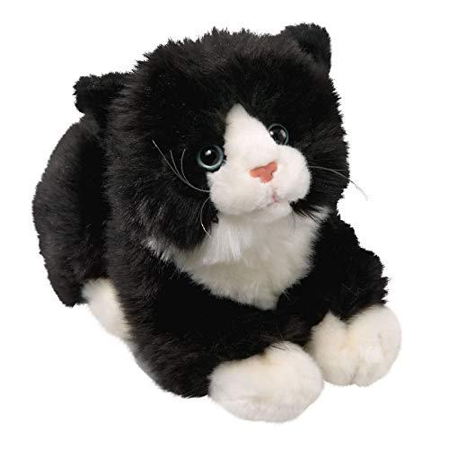 Carl Dick Peluche chat noir-blanc avec son 20cm [Jouet] 1608001